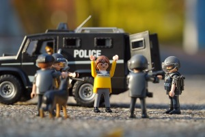 Playmobil Verhaftung